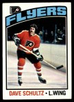 1976 Topps #150  Dave Schultz  Front Thumbnail