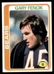 1978 Topps #497  Gary Fencik  Front Thumbnail