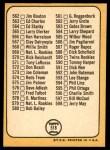 1968 Topps #518 AM  -  Clete Boyer Checklist 7 Back Thumbnail