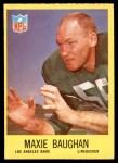 1967 Philadelphia #87  Maxie Baughan  Front Thumbnail