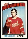 1976 Topps #171  Nick Libett  Front Thumbnail