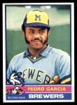 1976 Topps #187  Pedro Garcia  Front Thumbnail