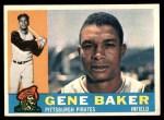 1960 Topps #539  Gene Baker  Front Thumbnail
