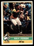 1976 Topps #554  Ray Fosse  Front Thumbnail