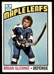 1976 Topps #99  Brian Glennie  Front Thumbnail