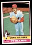 1976 Topps #14  Gene Garber  Front Thumbnail