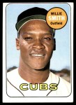1969 Topps #198  Willie Smith  Front Thumbnail