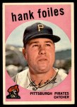 1959 Topps #294  Hank Foiles  Front Thumbnail