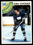 1978 Topps #52  Dennis Ververgaert  Front Thumbnail