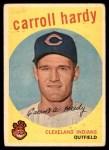 1959 Topps #168  Carroll Hardy  Front Thumbnail