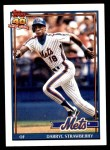 1991 Topps #200  Darryl Strawberry  Front Thumbnail