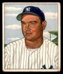 1950 Bowman #139  Johnny Mize  Front Thumbnail