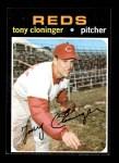 1971 Topps #218  Tony Cloninger  Front Thumbnail