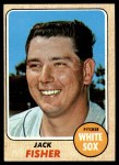 1968 Topps #444  Jack Fisher  Front Thumbnail