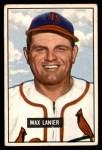 1951 Bowman #230  Max Lanier  Front Thumbnail