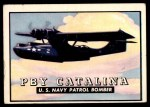 1952 Topps Wings #7   PBY Catalina Front Thumbnail