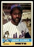 1976 Topps #417  Gene Clines  Front Thumbnail