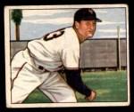 1950 Bowman #199  Jack Kramer  Front Thumbnail