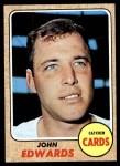 1968 Topps #558  Johnny Edwards  Front Thumbnail