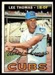 1967 Topps #458  Lee Thomas  Front Thumbnail