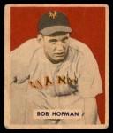 1949 Bowman #223  Bobby Hofman  Front Thumbnail