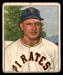 1950 Bowman #124  Clyde McCullough  Front Thumbnail