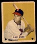 1949 Bowman #205  Dick Sisler  Front Thumbnail