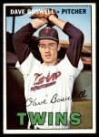 1967 Topps #575  Dave Boswell  Front Thumbnail