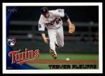 2010 Topps Update #87  Trevor Plouffe   Front Thumbnail