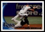 2010 Topps Update #94  Reid Brignac  Front Thumbnail