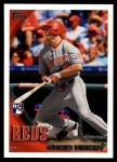2010 Topps Update #177  Chris Heisey  Front Thumbnail