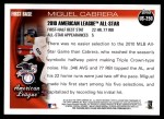 2010 Topps Update #250  Miguel Cabrera  Back Thumbnail