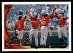 2010 Topps #38   Astros Team Front Thumbnail
