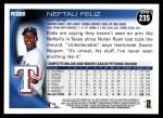 2010 Topps #235  Neftali Feliz  Back Thumbnail