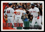 2010 Topps #302   -  Kevin Youkilis / David Ortiz Beantown Backhand Front Thumbnail