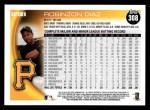 2010 Topps #308  Robinzon Diaz  Back Thumbnail