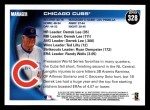 2010 Topps #328   Cubs Team Back Thumbnail