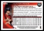 2010 Topps #532  Hunter Pence  Back Thumbnail