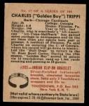 1948 Bowman #17  Charley Trippi  Back Thumbnail