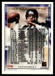 1995 Topps #36  Jeff George  Back Thumbnail