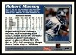 1995 Topps #68  Robert Massey  Back Thumbnail