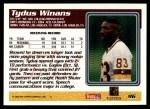 1995 Topps #96  Tydus Winans  Back Thumbnail