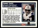 1995 Topps #103  Leon Lett  Back Thumbnail