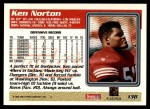 1995 Topps #138  Ken Norton Jr.  Back Thumbnail