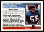 1995 Topps #144  Micheal Barrow  Back Thumbnail