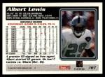 1995 Topps #167  Albert Lewis  Back Thumbnail