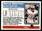 1995 Topps #196  Marcus Robertson  Back Thumbnail