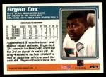 1995 Topps #284  Bryan Cox  Back Thumbnail