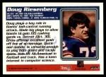 1995 Topps #289  Doug Riesenberg  Back Thumbnail