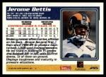 1995 Topps #295  Jerome Bettis  Back Thumbnail